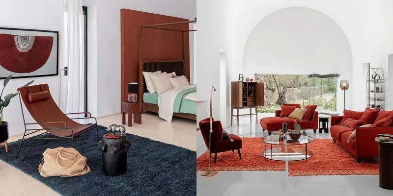 tapis-berbere-orange-vert-canard