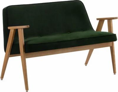sofa-velours-vert-bouteille