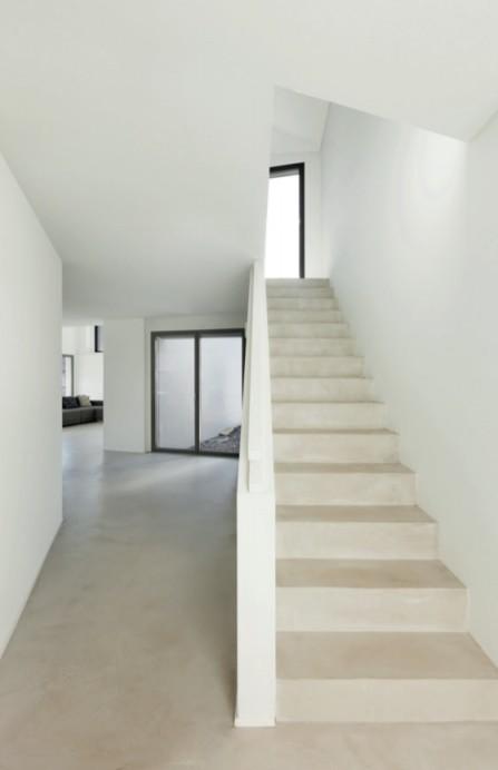 beton cire escalier