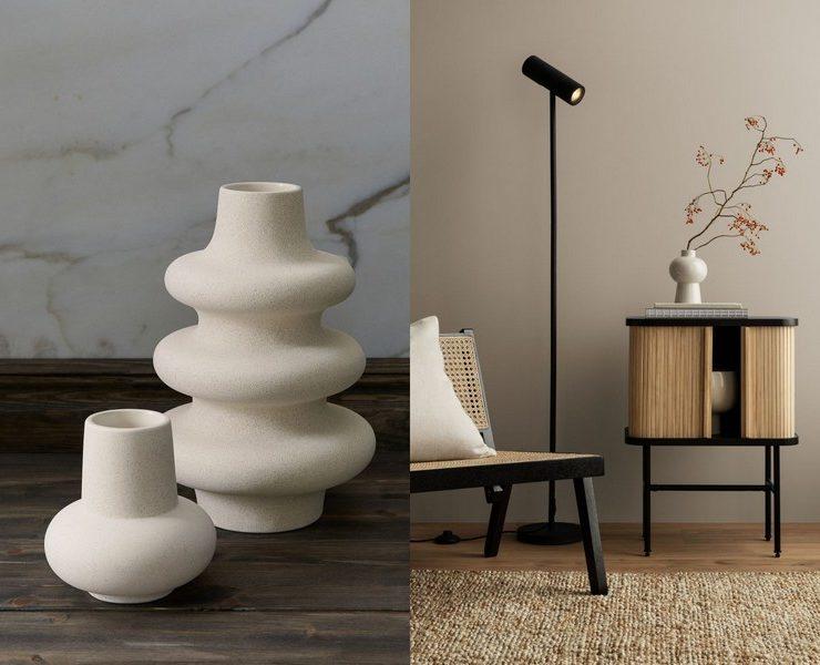 vases minimalistes hm